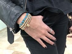 Gemstone Bracelets, Handmade Bracelets, Sterling Silver Bracelets, Summer Fashion Outfits, Colorful Bracelets, Bracelet Designs, Fashion Bracelets, Unique Gifts, Gifts For Her