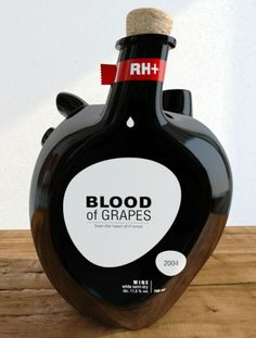 Designer #ConstantinBolimond has launched a unique line of #wine bottles designed in the shape of the human #heart - http://www.finedininglovers.com/blog/food-drinks/blood-of-grapes-wine-bottle/