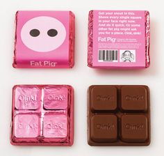 Fat Pig - #pink #choco #pack
