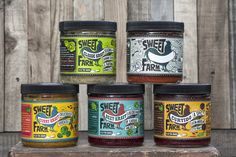 Sweet Farm Sauerkraut Label Design on Packaging of the World - Creative Package Design Gallery