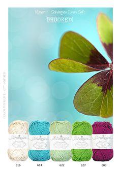 Frisse en vrolijke zomerkleuren van het prachtige luxe garen van Scheepjeswol. Het zachte garen is gemaakt van hoofdzakelijk linnen en katoen, de fijne zachte structuur geeft elk project een luxueuze look. Verkrijgbaar in vele prachtige kleuren, welke onderling goed combineren.