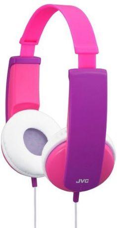 JVC kinderkoptelefoon, met volumelimiet en stickers om te versieren