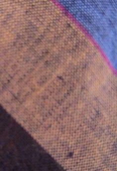 Vintage Blue/Brown/Tan/Gray/Red Irish Rugby Football Stripe Knit Linen Neck Tie! #Tie