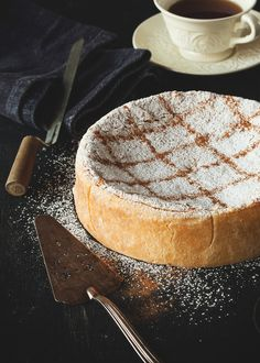 Baked Ricotta Cheesecake Recipe (A Table For Two)