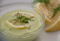 Avo-Lemon-Dill Dip (AIP, Paleo, SCD)