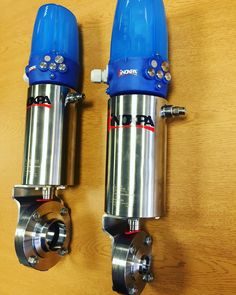 Inoxpa 4800 Hygienic Butterfly Valves with Pneumatic Actuator and C Top http://www.valvesonline.co.uk/inoxpa-4800-hygienic-butterfly-valve-pneumatic-actuator-c-top.html #inoxpa #hygienic #butterflyvalve #butterflyvalves #inoxpavalves #valves #actuated #actuator #hygienicvalves #engineering