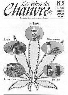 Numéro 5  -  Hiver 1996 / 97 #LesEchosDuChanvre #w33daddict