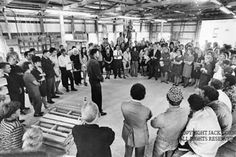 Clairfield pallet factory dedication.  Jack Corn Photography