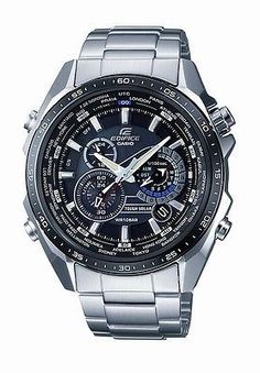 Casio Men's EQS500DB-1A1 Edifice Solar Stainless Steel Multi-Function Watch . 191,060원
