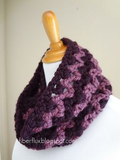 Pinot Noir Infinity Scarf