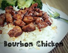 Bourbon Chicken in the Crock Pot! Made it last night.... this one's a keeper!