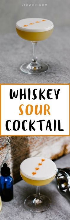 We love a good #classic #cocktail and what's better than the #whiskey sour!