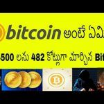 What is Bitcoin | How Bitcoin Works in Telugu | Bitcoin Price India | Bitcoin Explained in Telugu