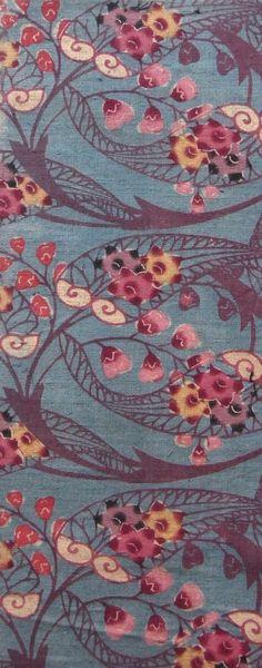 ASAGI-GROUND COTTON BINGATA ・ 木綿紅型