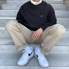 Street Style Outfits Men, Cool Outfits For Men, Stylish Mens Outfits, Retro Outfits, New Outfits, Fashion Outfits, Indie Outfits, 2000s Fashion, Fashion Tips