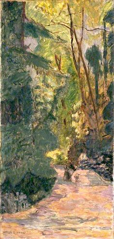 A Path in the Forest - Pierre Bonnard (French, 1867-1947)