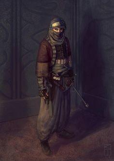 Arabian Assassin by Kamikazuh.deviantart.com on @deviantART