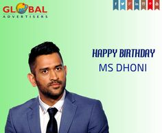 Here's wishing a very Happy Birthday to our Legend #MSDhoni! One of the best captain in cricket history. #HappyBirthdayMSD