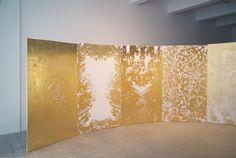 Jim Hodges, gold leaf painting