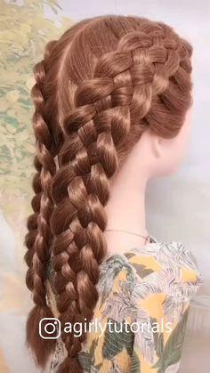10 best tutorials for easy hairstyles Part Bride Hairstyles, Cute Hairstyles, Short Bob Hairstyles, Easy Hairstyles Tutorials, Art Tutorials, Renaissance Hairstyles, Victorian Hairstyles, Historical Hairstyles, Very Long Hair