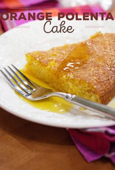 Make this polenta cake as a Christmas or holiday dessert. This Italian recipe is a classic.