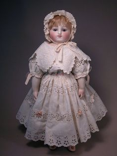 Bisque Hip Early Steiner Bebe, Closed mouth from maspinelli on Ruby Lane Antique Dolls, Vintage Dolls, Doll Costume, Costumes, China Dolls, Madame Alexander Dolls, Doll Maker, Beautiful Dolls, Flower Girl Dresses