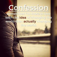 Confession. If you can relate, then you need to listen to episode 18 of our podcast: PrepareMyMission.com/podcast