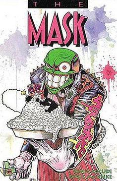 The Mask TPB, August Dark Horse Comics. Collects Mask Dark Horse) Written by John Arcudi. Art by Doug Mahnke. Darkhorse Comics, Star Wars Poster, Star Wars Art, Star Trek, O Maskara, Comics Gratis, Cute Girl Pic, Comedy Films, Dark Horse