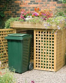 Utility boxes, lawn equipment and trash bins are necessities, but they don't des. - Utility boxes, lawn equipment and trash bins are necessities, but they don't deserve to share the -