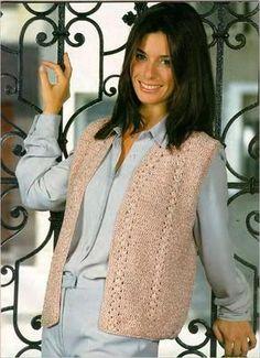 Vest free crochet pattern
