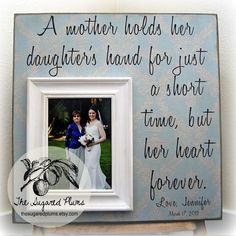 Mother of the Bride gift - adorable! - weddingsabeautiful