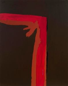 """Robert Motherwell - """"La Belle France"""" (1967). #art #abstract #expressionism"""