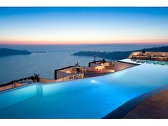 Dinner by the pool Imerovigli Santorini, Skiathos, Santorini Hotels, Greece Hotels, Santorini Island, Santorini Vacation, Santorini Sunset, Santorini Italy, Design Hotel