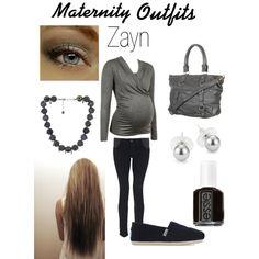 """Maternity Outfit Zayn"" by joanie13da on Polyvore"