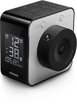 Philips AJ4800 Clock Radio With Time Projection FM Dual Alarm  GENUINE NEW