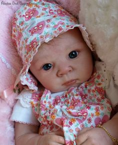 A Romie Baby Solid Full Silicone Doll Cameo 3 By