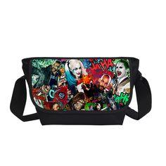 Suicide Squad Harley Quinn Joker Messenger Bag Cross Bag //Price: $29.98 & FREE Shipping //     #jaredletojoker #jarley #jokerandharley #dccomics #madlove #thecrazyones #suicidesquad2016