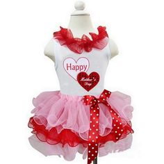 HAPPY MOTHER'S DAY TUTU SET  Price $39.99, Free Shipping Options: 1/2T, 3/4T, 5/7