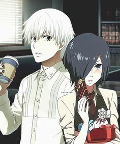 Se peguem de uma vez,nunca te pedi nada;--; | Kaneki e Touka - Tokyo Ghoul