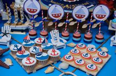 Nautical Birthday Party Ideas | Photo 1 of 16