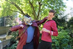 This Is How You Do 'Star Trek' Redshirt Cosplay