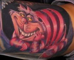 Cheshire cat tat