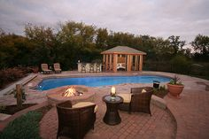 inground pool ideas for backyard | In Ground Fiberglass Pool- Signature Pools Chicago