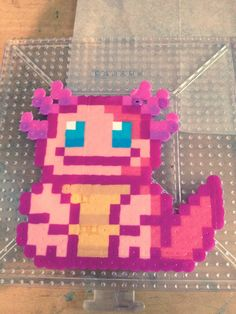 Axolotl Perler bead- I made it!