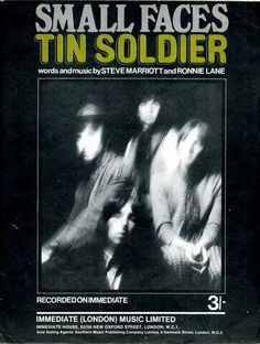 Small Faces Tin Soldier #TapasDeDiscos