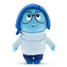 Sadness Plush - Disney•Pixar Inside Out - Small - 11''