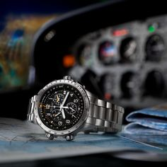 Whether you're looking for an automatic watch, GMT watch or pilot's chronograph, you'll find the ideal watch in our collection of precision timepieces made for professional pilots.