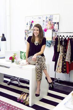 Shop Talk: Alex & Liz's Office Tour   theglitterguide.com