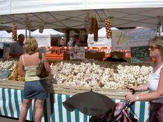 European street market, exeter, devon