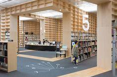biblioteca arquitectura interior - Buscar con Google